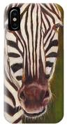 Racer, Zebra IPhone Case