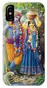 Radha-krishna Radhakunda IPhone X Case