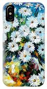 Radiance 2 - Palette Knife Oil Painting On Canvas By Leonid Afremov IPhone Case