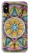 Radiant Health Mandala IPhone Case