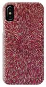Radiation With Brown Magenta And Violet  IPhone Case