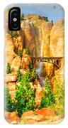 Radiator Springs Waterfall IPhone Case