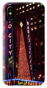 Radio City At Christmas IPhone Case