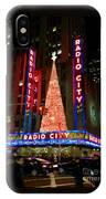 Radio City At Christmas Time - Holiday And Christmas Card IPhone Case