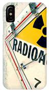 Radioactive Warning Sign IPhone Case