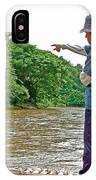 Rafting Guide On Mae Thang River Near Chiang Mai-thailand IPhone Case