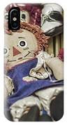 Raggedy Ann And Andy IPhone Case