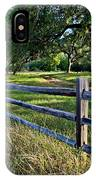 Rail Fence Scenic II IPhone Case