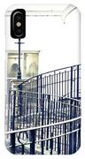 Railings And Lamp IPhone Case