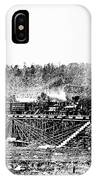 Railroad Bridge, 1858 IPhone Case