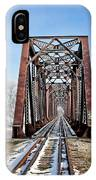 Railroad Bridge IPhone Case