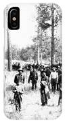 Railroad Camp, 1880s IPhone Case