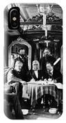 Railroad Directors, C1868 IPhone Case
