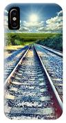 Railroad To Heaven IPhone Case