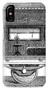 Railway Carriage, 1864 IPhone Case