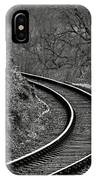Railway Line IPhone Case