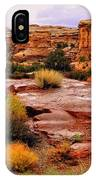 Rain At The Needles District 2 IPhone Case
