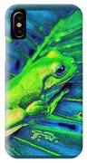 Rain Forest Tree Frog IPhone Case