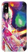 Rain Song Jimmy Page IPhone Case