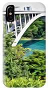 Rainbow Bridge View IPhone Case