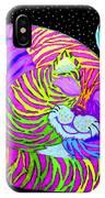 Rainbow Cat Blue Moon IPhone Case