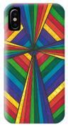 Rainbow Cross IPhone Case