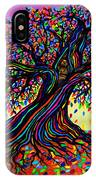 Rainbow Dreams And Falling Leaves IPhone Case