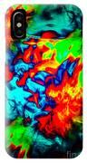 Rainbow Dye IPhone Case
