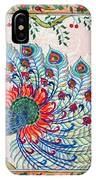 Rainbow Feathers IPhone Case