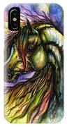 Rainbow Horse 2 IPhone Case