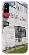 Rainbow Inn Cajun Dance Hall IPhone Case