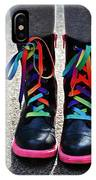 Rainbow Laces IPhone Case