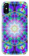 Rainbow Lotus IPhone Case