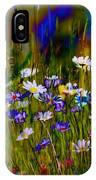 Rainbow Meadow IPhone Case