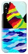 Rainbow Mountain IPhone X Case