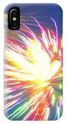 Rainbow Of Color Abstract Fireworks IPhone Case