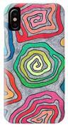 Rainbow Snails IPhone Case