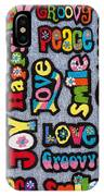 Rainbow Text IPhone Case