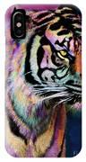 Rainbow Tiger IPhone Case