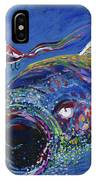 Rainbow Trout Detail B IPhone Case