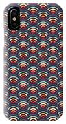 Rainbowaves Pattern Dark IPhone Case
