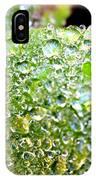 Lambs Ear Raindrops IPhone X Case