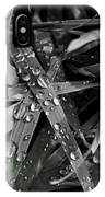Raindrops On Grass IPhone Case
