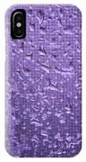 Raindrops On Window II IPhone Case