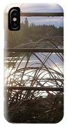 Raindrops To River Sunrise IPhone Case