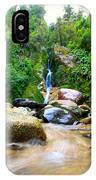 Rainforest Stream New Zealand IPhone Case