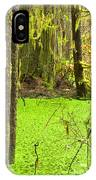 Rainforest Wetland Wildernis Of West Coast Bc IPhone Case