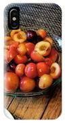 Rainier Cherries - Yummy IPhone Case