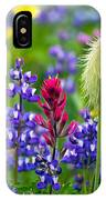 Rainier Wildflowers IPhone Case
