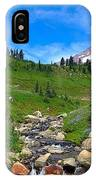 Rainier's Meadows IPhone X Case